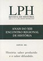 LPH REVISTA DE HISTÓRIA. Volume12 / 2002 • Departamento de História UFOP